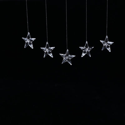 160 Pcs Acrylic Crystal Garland Star Design