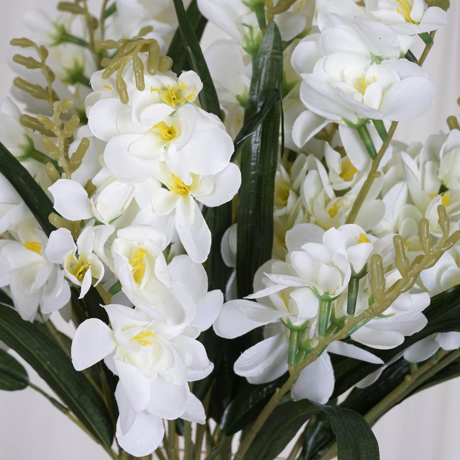 54 artificial freesia flower bushes wedding vase centerpiece decor 54 artificial freesia flower bushes wedding vase centerpiece decor cream izmirmasajfo