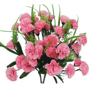 252 Wholesale Carnation Flowers Wedding Vase Centerpiece Decor - Pink
