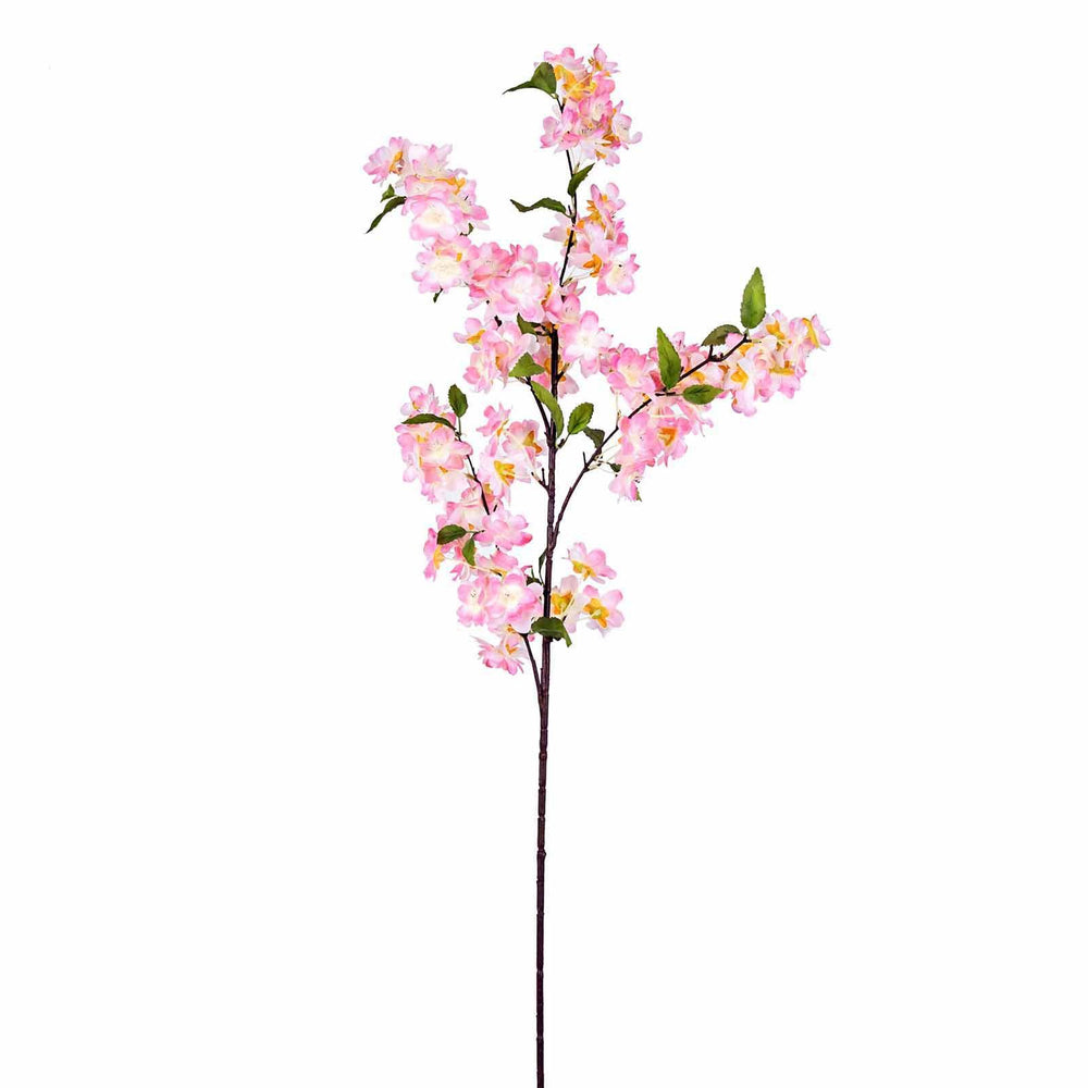 10 Pack 40 Tall Pink Silk Artificial Flowers Cherry Blossoms