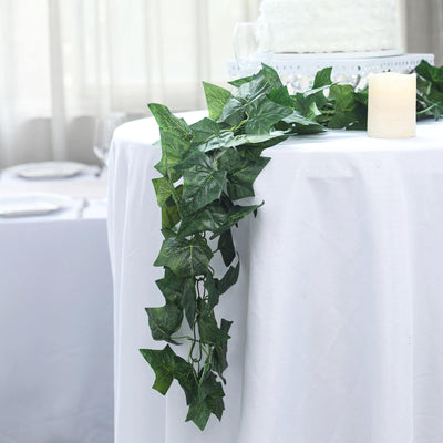 8FT Green UV Protected Ivy Vine Leaf Chain Artificial Garlands