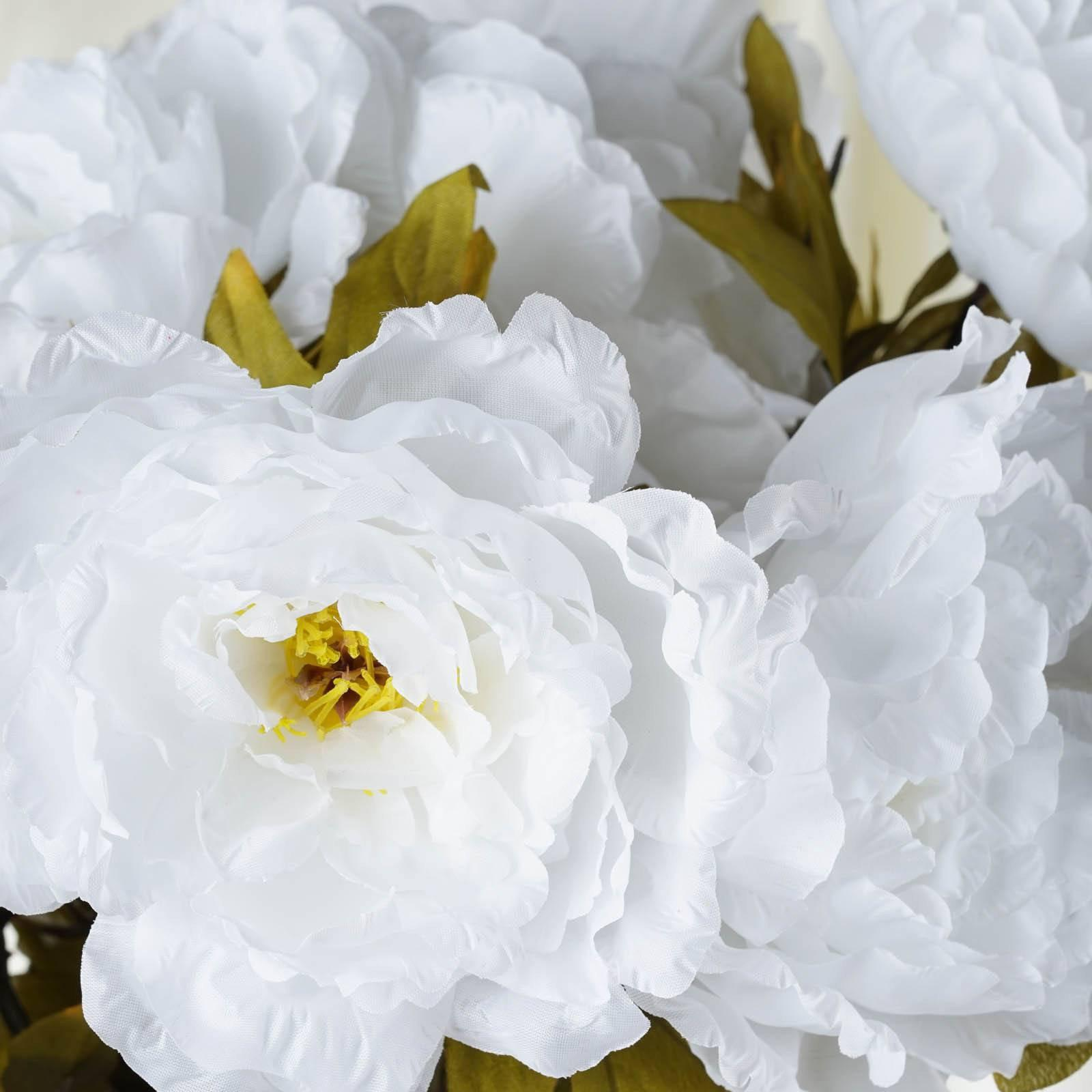 42 queen peony flowers white tablecloths factory 42 queen peony flowers white mightylinksfo