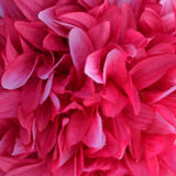Fushia Artificial Dahlia Kissing Flower Balls Wedding Hanging Decor - Buy 1 Get 3 Free