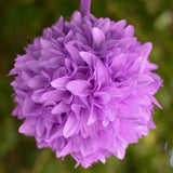 Lavender Artificial Dahlia Kissing Flower Balls Wedding Hanging Decor - Buy 1 Get 3 Free