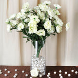 72 Artificial Buttercup Bulb Flowers Wedding Vase Centerpiece Decor -  Cream