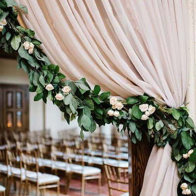 6 FT Artificial Fall Ivy Pothos Garland Foliage For Wedding Arch Gazebo Home D?cor