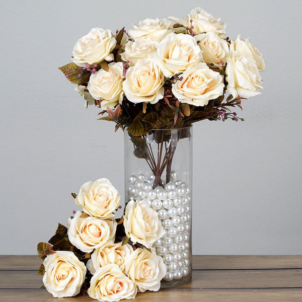 Rose Bouquets and Single Stems – tableclothsfactory.com