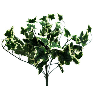 4 Artificial IVY Holland Leaf Green Bushes Wedding Vase Centerpiece Décor -Green