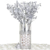 12 Bushes Silver Artificial Silk Baby Breath Flowers