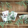 2 Pack | 9 FT Frosted Green Artificial Leaf Garland