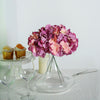 Dark Lavender/Pink Artificial Hydrangeas, DIY Dual Tone Hydrangea Flower Arrangements, Artificial Flower