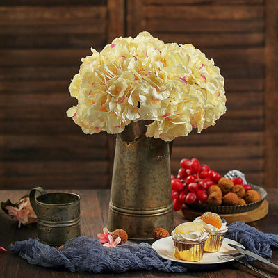 Artificial Hydrangeas, Fake Hydrangeas, Fake Hydrangea Bush | TableclothsFactory