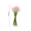 "20 Pack | 14"" Tall Blush Artificial Calla Lily Flower 