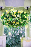 12 Bush Yellow 180 Rose Buds With Artificial Baby's Breath Bulk Silk Flowers