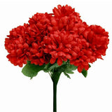 84 Silk Chrysanthemum - Red