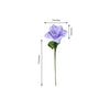 24 Bush 168 Pcs Lavender Artificial Bloom Roses Flowers