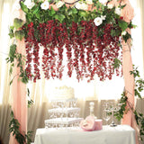 "5 Bushes | 44"" Artificial Wisteria Vine 