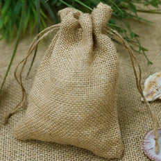 Small Burlap Bags, Burlap Sack, Gift Bags for Wedding Favors