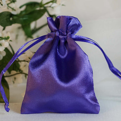 Satin Bags, Drawstring Pouch, Wedding Favors