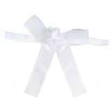 2 Pcs Triple Rose White Bands For Votive Candle