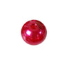 1000 Pack 10mm Red Faux Pearl Beads Vase Fillers