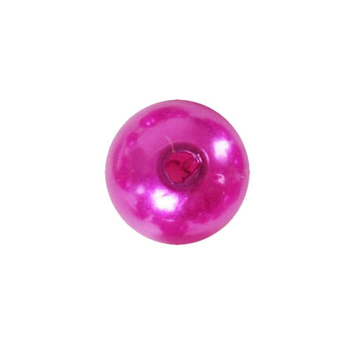 1000 Pack 10mm Fuchsia Faux Pearl Beads Vase Fillers