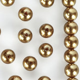 10MM  Wedding Faux Pearl Beads Garland Vase Filler Flower Centerpiece Table Decoration - Gold - 1000 PCS