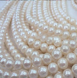 1000 Pack 10mm Ivory Faux Pearl Beads Vase Fillers