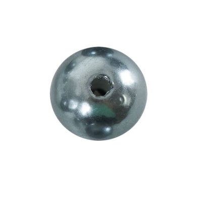 30mm | 35 Pack Charcoal Gray Faux Pearl Beads Vase Fillers