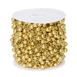 62 FT Gold Pearl Garland String for Wedding Bridal Corsages Decorations