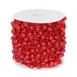 62 FT Red Pearl Garland String for Wedding Bridal Corsages Decorations