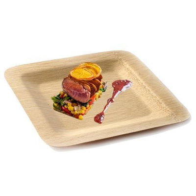 Bamboo Plates, Disposable Plates, Eco Friendly Dinnerware