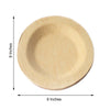 Bamboo Plates, Eco Friendly Dinnerware, Compostable Plates