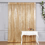 8ft x 8ft Gold Sequin Backdrop | Sequin Photo Booth Backdrop
