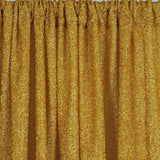20ftx10ft Metallic Spandex Backdrops - Gold