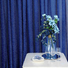 20FT x 10FT Royal Blue Metallic Shiny Spandex Glittering Backdrop