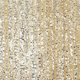 20FT Champagne Big Payette Sequin Curtain Panel Backdrop Wedding Party Photography Background - 1 PCS