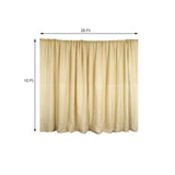 20ftx10ft Dual Layer Chiffon And Natural Rustic Burlap Backdrop Wedding Party Photography Event Decoration