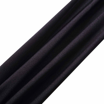 6 Ft 3 Point Black Spandex Ceiling Wall Patio Sunshade Sails with Grommets