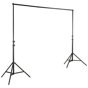 Adjustable Heavy Duty Pipe and Drape Kit Wedding Photography Backdrop Stand 8ft X 10ft