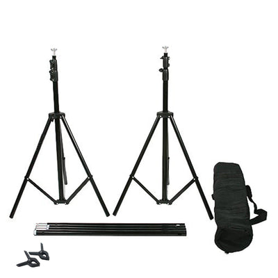 10FT Adjustable Crossbar Kit Wedding Photography Muslin Backdrop Stand