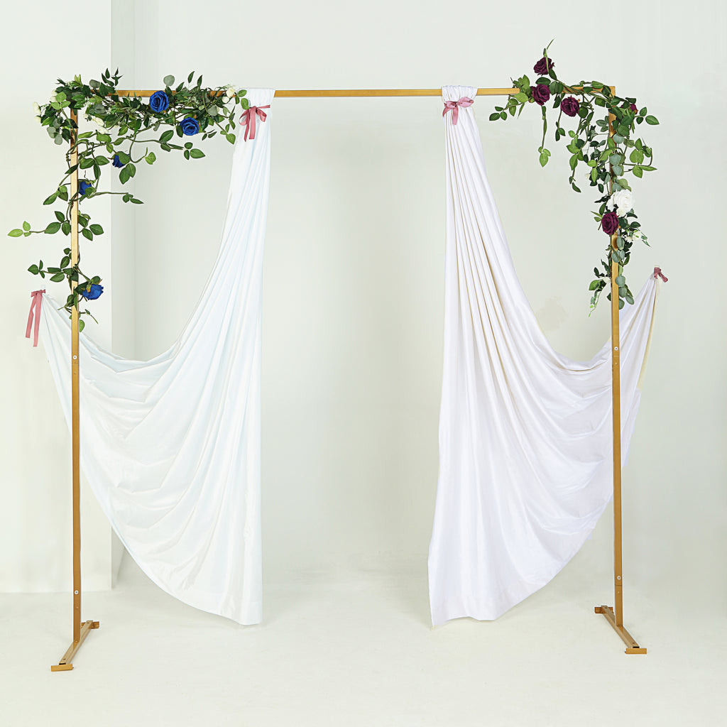 Gold Wedding Arch Backdrop Stand Metal Arch | Tableclothsfactory