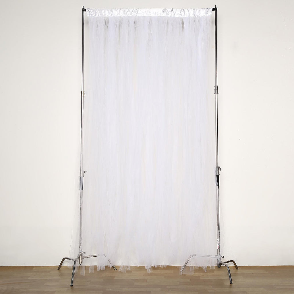 Tulle Backdrop Curtain Sheer Curtain Panels Tableclothsfactory