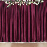 8Ft H x 8Ft W Purple Premium Velvet Backdrop Curtain Panel Drape