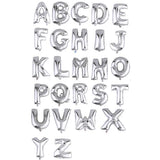 "40"" Silver Foil Helium Mylar Balloons Letters - I"