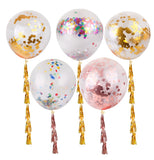 "10 Pack 18"" Clear Transparent Helium Air Balloons"