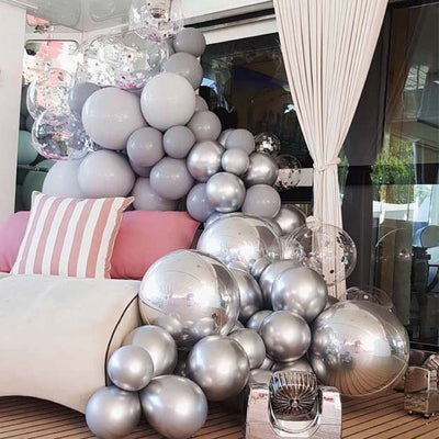 "24"" Clear Transparent Helium Air Durable PVC Bubble Balloons"
