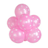 "25 Pack | 12"" Pink SENSATIONAL Polkadot Latex Balloons"