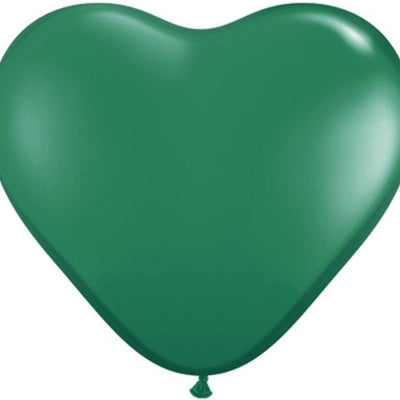"12"" YOU'RE SPECIAL! Latex Heart Balloons- Green-25/pk"