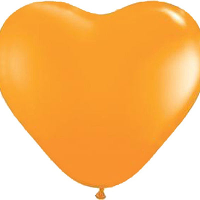 "12"" YOU'RE SPECIAL! Latex Heart Balloons- Orange-25/pk"